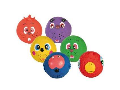 Směs míčů s obličejem 7 cm