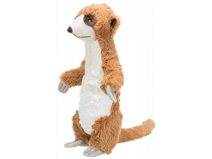 Surikata plyšová hračka pro psy se zvukem 40 cm