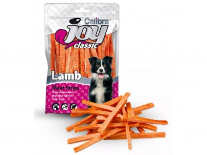 Calibra Joy Dog Classic Lamb Strips 250g