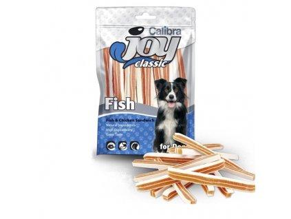 Calibra Joy Dog Classic Fish & Chicken Sandwich 250g NEW