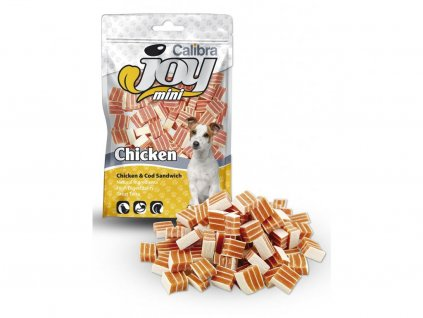 1670 1 calibra joy dog mini chicken cod sandwich 70 g