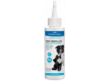 Francodex Roztok čistící na uši pes, kočka 125ml2