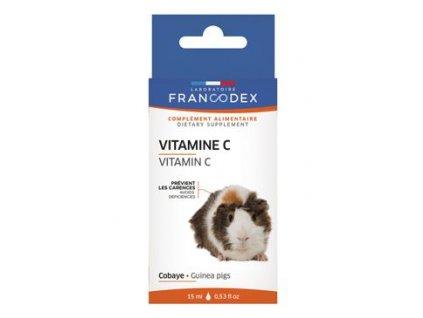 Francodex Vitamín C kapky morče 15 ml