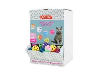 Hračka kočka Display zvonící míčky Zolux