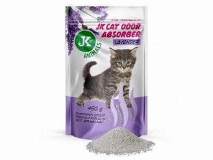 JK Lavender Absorber pohlcovač zápachů s vůní levandule 450 g