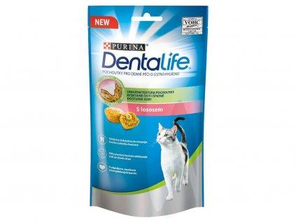 Purina Dentlife Cat s lososem 40 g