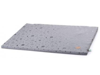 Tenká poduška Grey LUX