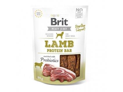 Brit pamlsky Jerky Lamb Protein Bar 80 g