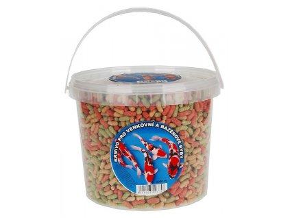 Apetit krmivo pro venkovní a bazénové ryby, kbelík 800 g