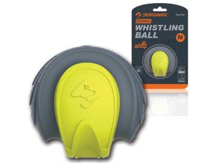 GiGwi Skipdawg Whistling Ball hvízdací plovoucí míč