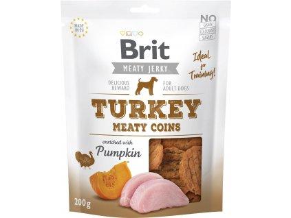 Brit pamlsky Jerky turkey