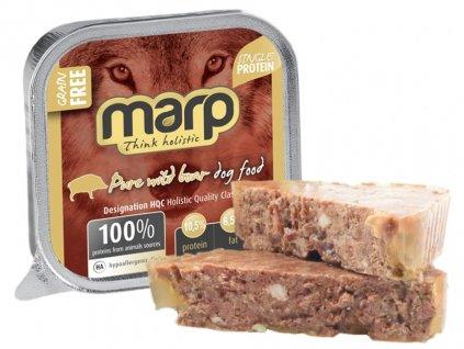 Marp Wild Boar vanička pro psy s divočákem 100 g