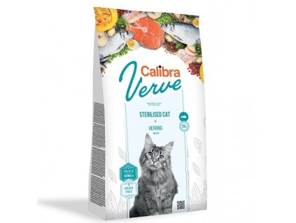 Calibra Cat Verve GF Sterilised Herring 3,5 kg