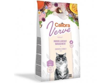 Calibra Cat Verve GF Indoor & Weight Chicken 3,5 kg