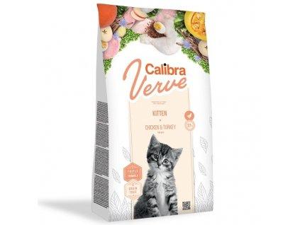 Calibra Cat Verve GF Kitten Chicken & Turkey 750 g
