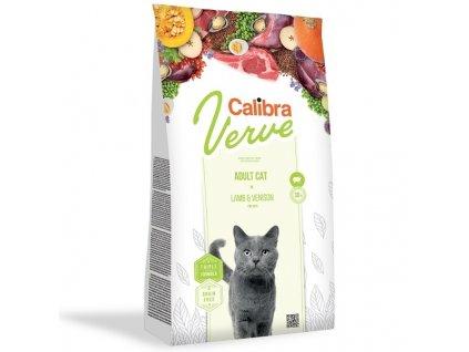 Calibra Cat Verve GF Adult Lamb & Venison (8+) 750 g