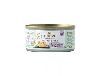 Nuevo Cat konzerva Handmade Chicken & Tuna 70 g
