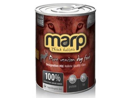 Marp Holistic Venison konzerva pro psy se zvěřinou 400 g