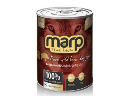 Marp Wild Boar konzerva pro psy s divočákem 400 g