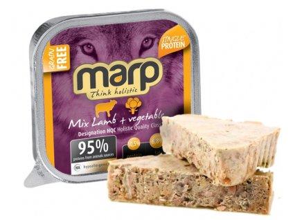 Marp Mix vanička pro psy jehně+zelenina 100g