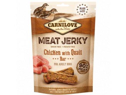 Carnilove Dog Jerky Quail&Chicken Bar 100g