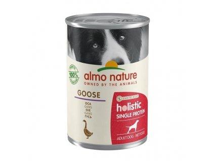 Konzerva Almo Nature 100% Single Protein husa 400 g