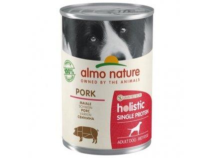Konzerva Almo Nature 100% Single Protein vepřová 400 g