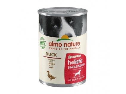 Konzerva Almo Nature 100% Single Protein kachna 400 g