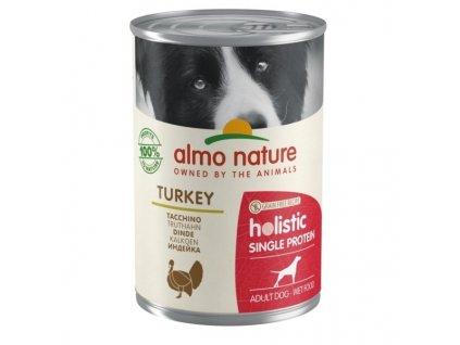 Konzerva Almo Nature 100% Single Protein krůta 400 g