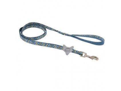 Vodítko Hurtta Razzle Dazzle Standard modré 180cm