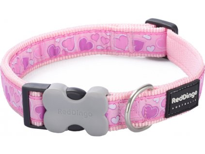 Obojek RED DINGO - Breezy Love Pink (Velikost 15 mm)