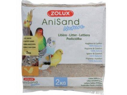 AniSand Nature 2kg  + ke každé objednávce náš MŇAU bag