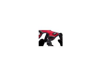 Postroj RED DINGO polstrovaný tmavě růžový (Velikost Velikost M)