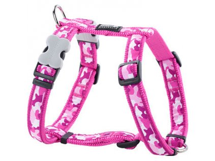 2117 2 postroj red dingo 12 mm x 30 44 cm camouflage hot pink