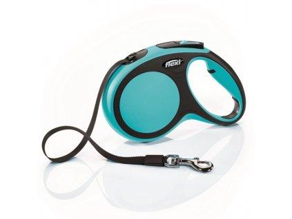 Vodítko FLEXI Comfort M pásek 5 m / 25 kg (Barva Modrá)