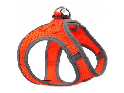 Postroj DOG FANTASY puppy oranžový (Velikost Velikost M)
