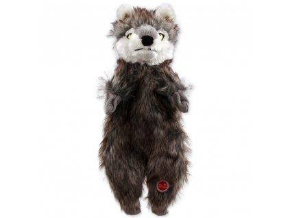 2615 1 hracka dog fantasy skinneeez vlk plys 34 cm