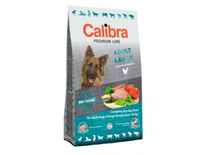 3236 1 calibra dog premium line adult large 12 kg