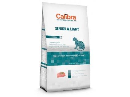 3353 calibra cat senior light turkey rice 7 kg