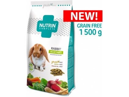 344 1 Nutrin complete gf kralik vegetable 1500 g