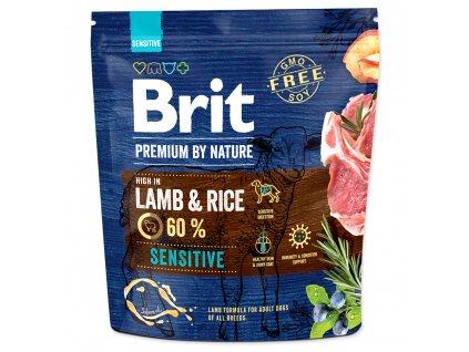 3788 1 brit premium by nature sensitive lamb 1 kg