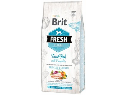 3833 1 brit fresh fish with pumpkin adult large muscles joints 12 kg