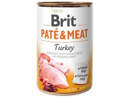 3860 brit konzerva pate meat turkey 400g