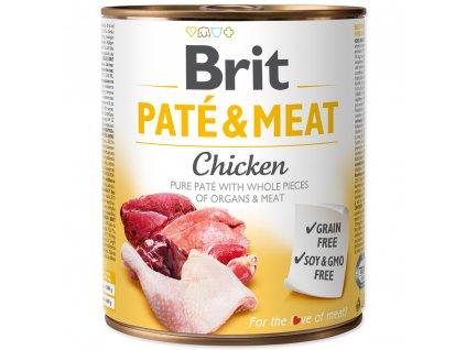 3875 brit konzerva pate meat chicken 800g