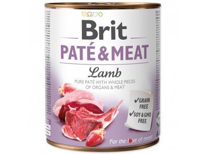 3881 brit konzerva pate meat lamb 800g