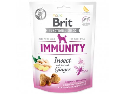 3908 brit care dog functional snack immunity insect 150 g