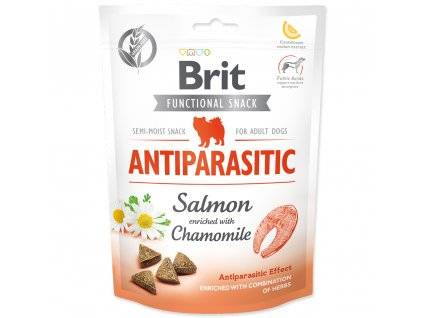 3926 brit care dog functional snack antiparasitic salmon 150 g
