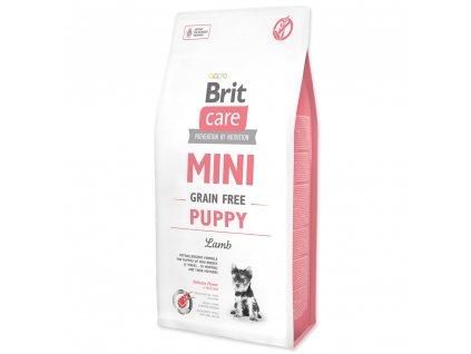 3932 brit care mini grain free puppy lamb 7 kg