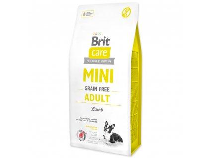 3935 brit care mini grain free adult lamb 7 kg
