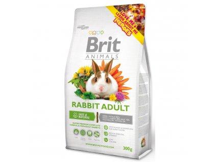 398 1 Brit Animals rabbit adult complete 300 g